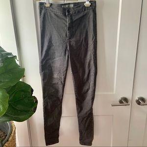 Top shop high waist skinny jean